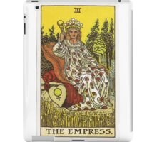 Tarot Card - The Empress iPad Case/Skin