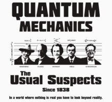 Quantum Mechanics - The Usual Suspects Kids Clothes