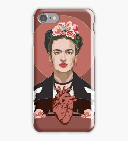 Frida (Dark) iPhone Case/Skin