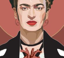 Frida (Dark) Sticker