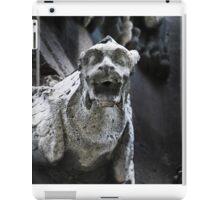 gargoyle, Notre Dame, Paris iPad Case/Skin