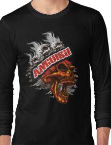 Anguish Skulls Long Sleeve T-Shirt