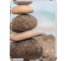 Stacked Pebbles 05 iPad Case/Skin