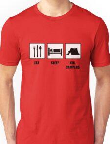 Eat Sleep Kill Campers Unisex T-Shirt
