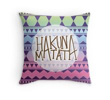 Aztec HAKUNA MATATA Throw Pillow