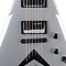 Silver Flying V Guitar Case by HighDesign