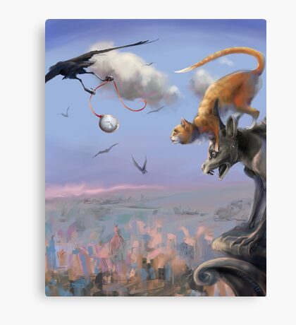 Flying Time Canvas Print