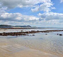 Last Day Of August  Lyme, Dorset. Uk by lynn carter
