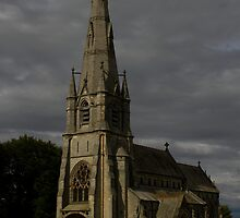 ST MARY'S CHURCH, STUDLEY ROYAL, North Yorkshire by Jon Lees