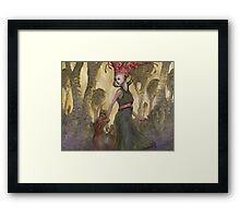 The Abduction of Anne Duvell - western version  Framed Print