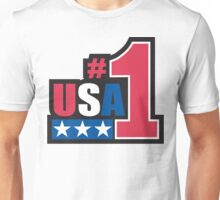 Veteran's Day USA #1 T-Shirt Unisex T-Shirt