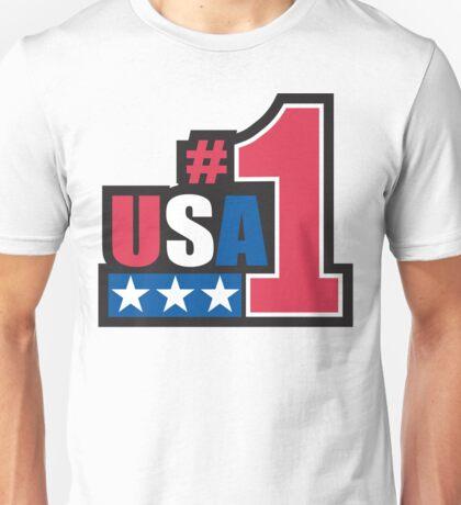 Veteran's Day USA #1 T-Shirt Unisex T-Shirt