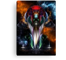 Riddian Queen Royal Regalia Canvas Print