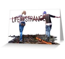 Railroad (Life is Strange) Greeting Card