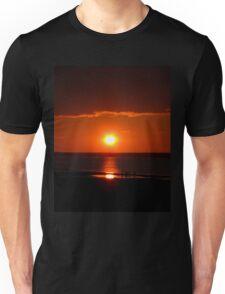Bathed in orange Unisex T-Shirt