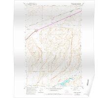 USGS Topo Map Washington State WA Karakul Hills 241737 1964 24000 Poster