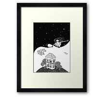 The Night Fairy Framed Print