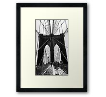 Brooklyn Bridge NYC Framed Print