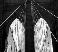 Brooklyn Bridge NYC Sticker