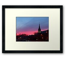 Twilight Sanctuary Framed Print