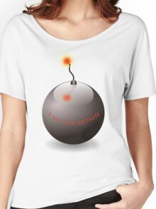 I am The Bomb Women's Relaxed Fit T-Shirt