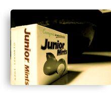 Junior Mints Canvas Print