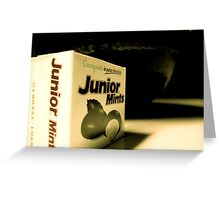 Junior Mints Greeting Card