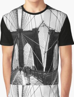 Brooklyn Bridge NYC Graphic T-Shirt