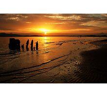 shipwreck on the north shore Photographic Print