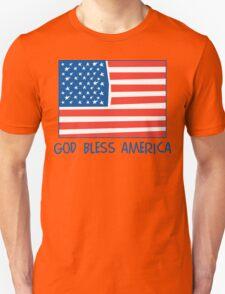 God Bless America T-Shirt T-Shirt
