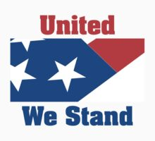 Veteran's Day United We Stand T-Shirt One Piece - Short Sleeve