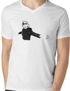 St Vincent Mens V-Neck T-Shirt