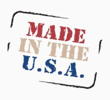 "Veteran's Day ""Made In The USA"" T-Shirt Kids Tee"