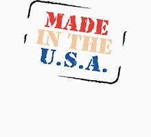 "Veteran's Day ""Made In The USA"" T-Shirt Womens Fitted T-Shirt"