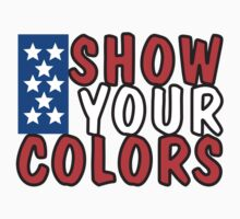 "Veteran's Day ""Show Your Colors"" T-Shirt Kids Tee"