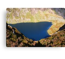 Liyn Cau Lake - Cadair Idris - South Snowdonia - Wales Canvas Print
