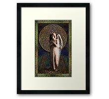 Celtic Mandela Angel #2 Framed Print