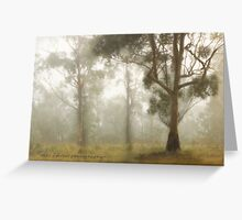 Wilberforce Morning Mist © Vicki Ferrari Greeting Card