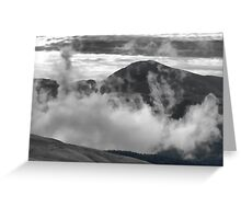 Ensconsed in Clouds Greeting Card