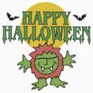 Happy Halloween T-Shirt by HolidayT-Shirts