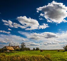 Settlers Home, Alberta Canada by alan shapiro
