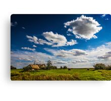 Settlers Home, Alberta Canada Canvas Print
