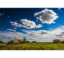 Settlers Home, Alberta Canada Photographic Print