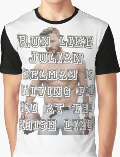 Run like Julian Edelman is waiting for you at the finish line! Graphic T-Shirt