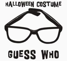 "Halloween ""Halloween Costume - Guess Who?"" T-Shirt One Piece - Short Sleeve"