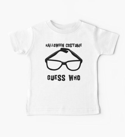 "Halloween ""Halloween Costume - Guess Who?"" T-Shirt Baby Tee"
