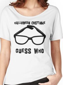 "Halloween ""Halloween Costume - Guess Who?"" T-Shirt Women's Relaxed Fit T-Shirt"