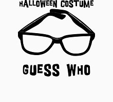 "Halloween ""Halloween Costume - Guess Who?"" T-Shirt Womens Fitted T-Shirt"