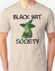 "Halloween ""Black Hat Society"" T-Shirt Unisex T-Shirt"