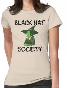 "Halloween ""Black Hat Society"" T-Shirt Womens Fitted T-Shirt"